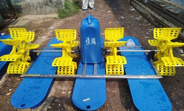 Paddle wheel aerator (2HP, Single Phase or Three Phase)